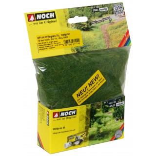 Divoká tráva XL, jasně zelená, 12 mm