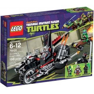 LEGO Ninja Turtles - Trhačova dračí motorka