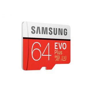 Samsung microSDHC 64 GB EVO Plus Class 10 UHS-I + SD adaptér