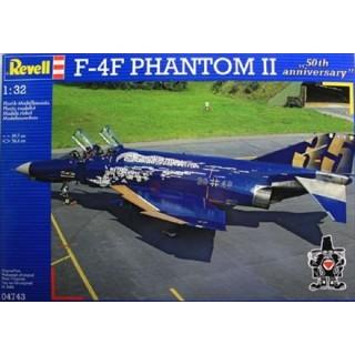 REVELL Revell 04743 F-4F Phantom 50th Anniversary 1:32 - rozbaleno