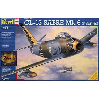 REVELL 04562 Canadair Sabre Mk. 6 1:48 - rozbaleno