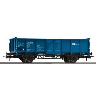 Otevřený nákladní vagón, modrý, ČD