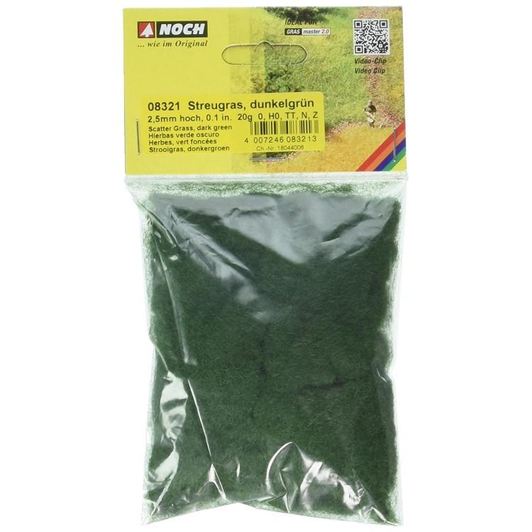 Statická tráva, tmavozelená, 2,5 mm, 20 g