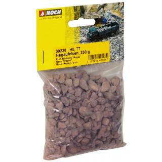 Štěrk - lomený přírodní, suť, 250 g