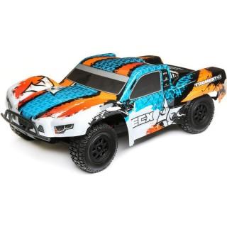 ECX Torment 4WD 1:10 RTR oranžový/modrý