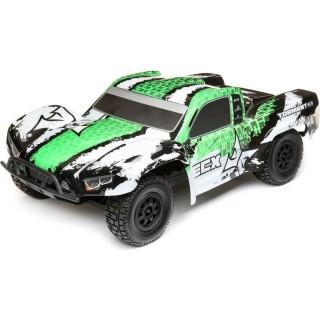 ECX Torment 4WD 1:10 RTR bílý/zelený