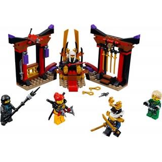 LEGO Ninjago - Závěrečný souboj v trůnním sále