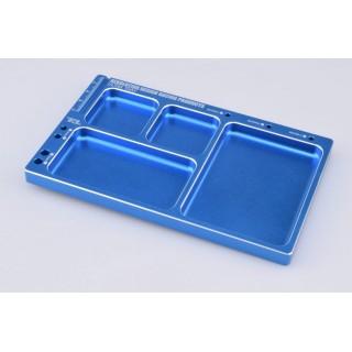 Hliníková pracovní podložka (tmavě modrá)