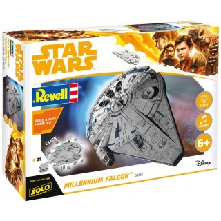 Build & Play SW 06767 -  Millennium Falcon (1:164)