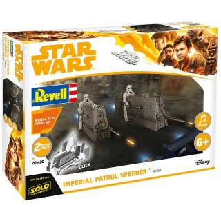 Build & Play SW 06768 -  Imperial Patrol Speeder (1:28)