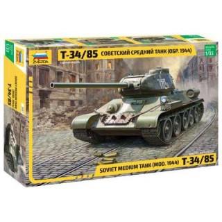Model Kit tank 3687 - Soviet Medium Tank T-34/85 (1:35)