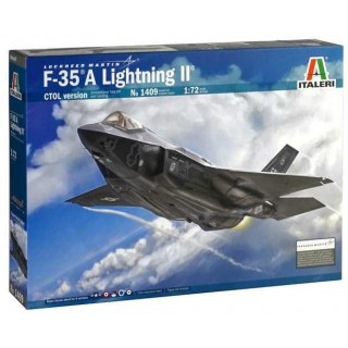 Model Kit letadlo 1409 - F-35 A LIGHTNING II CTOL version (1:72)