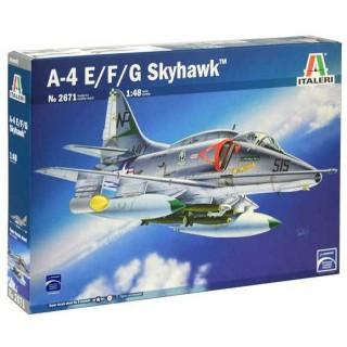 Model Kit letadlo 2671 - A-4 E/F/G Skyhawk (1:48)