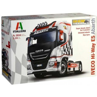 Model Kit truck 3934 - IVECO HI-WAY E5 ABARTH (1:24)