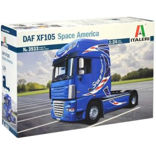 Model Kit truck 3933 - DAF XF105 Space America (1:24)