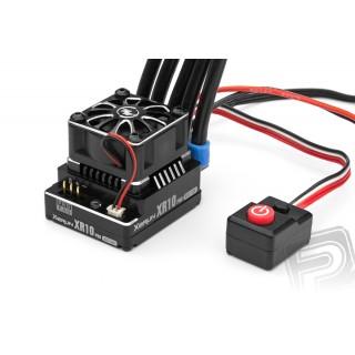 XERUN XR10 PRO 160A s ext. vypínačem - černý - regulátor