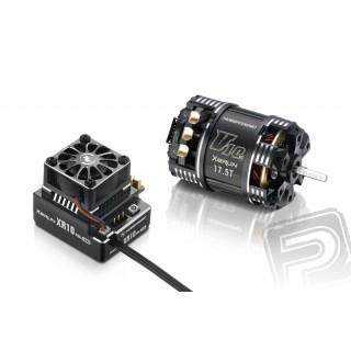 COMBO XR10 PRO černý s XERUN V10 4,5T závitů - G3 - černý