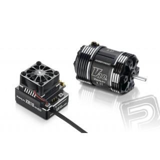 COMBO XR10 PRO černý s XERUN V10 7,5T závitů - G3 - černý