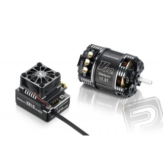COMBO XR10 PRO černý s XERUN V10 25,5T závitů - G3 - černý