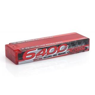 P5-HV TC LCG Stock Spec GRAPHENE 6400mAh Hardcase Battery - 7.6V LiPo - 120C/60C
