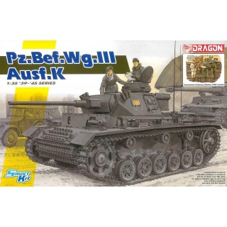 Model Kit tank 6853 - Pz.Bef.Wg.III Ausf.K (Smart Kit) (1:35)