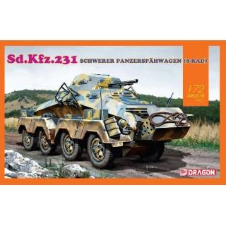 Model Kit tank 7577 - Sd.Kfz.231 SCHWERER PANZERSPÄHWAGEN (8-RAD) (1:72)