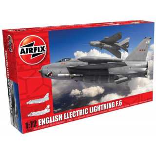 Classic Kit letadlo A05042A - English Electric Lightning F6 (1:72)