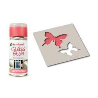 Humbrol sprej na sklo AD7701 - Glass Etch Pink