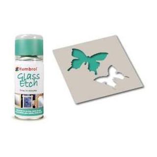 Humbrol sprej na sklo AD7703 - Glass Etch Green
