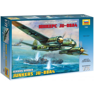 Model Kit letadlo 7282 - Junkers Ju-88A4 (1:72)