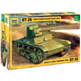 Model Kit tank 3540 - T-26 Flamethrower  (re-release) (1:35)