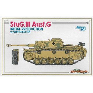 Model Kit tank 6598 - StuG.III Ausf.G INITIAL PRODUCTION w/WINTERKETTEN (SMART KIT) (1:35)