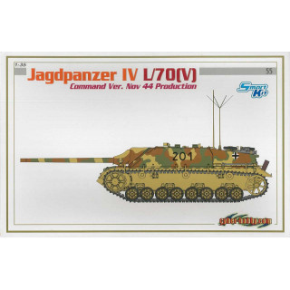 Model Kit tank 6623 - JAGDPANZER IV L/70(V) COMMAND VERSION NOV 44 PRODUCTION (SMART KIT) (1:35)