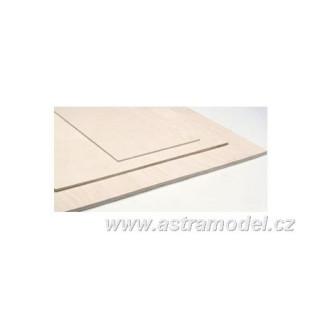ASTRA Preglejka topoľ 200 * 600 * 3mm S0629/B/3
