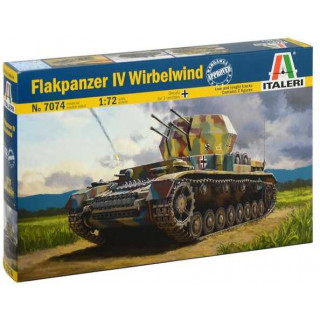 Model Kit military 7074 - Flakpanzer IV Wirbelwind (1:72)