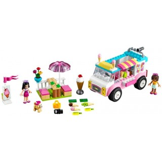 LEGO Juniors - Emma a zmrzlinářská dodávka