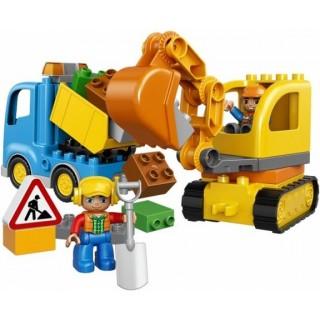 LEGO DUPLO Town - Pásový bagr a náklaďák
