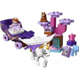 LEGO DUPLO Princezny - Sofie I. a její kouzelný kočár