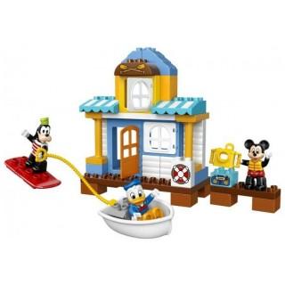 LEGO DUPLO Disney - Mickey a jeho kamarádi v domě na pláži