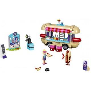 LEGO Friends - Dodávka s párky v rohlíku v zábavním parku