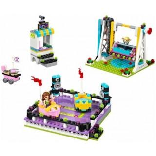 LEGO Friends - Autíčka v zábavním parku