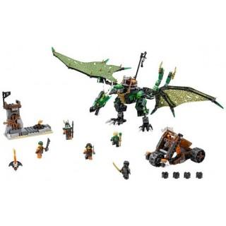 LEGO Ninjago - Zelený drak NRG