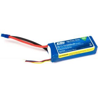LiPol 11.1V 2200mAh 3čl 50C EC3
