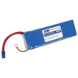 LiPol 11.1V 3200mAh 3čl 20C EC3