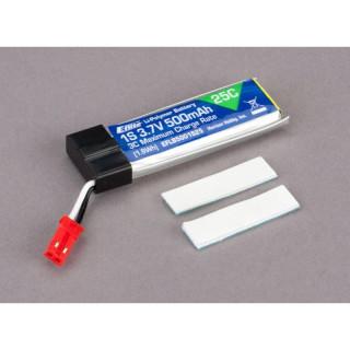 E-Flite LiPol 3.7V 500mAh 25C Blade 120SR/mQX