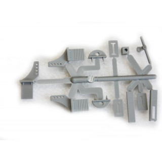 Plastové páky a vidličky pro modely .40 až .60 EP