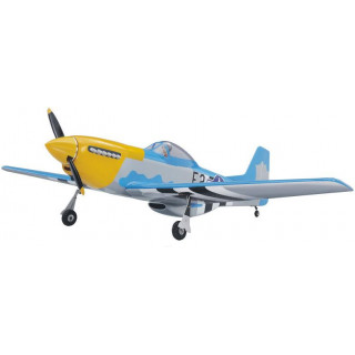 P-51D Mustang 20cc 1.7m ARF žlutý