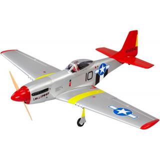 P-51D Mustang 20cc 1.7m ARF červený