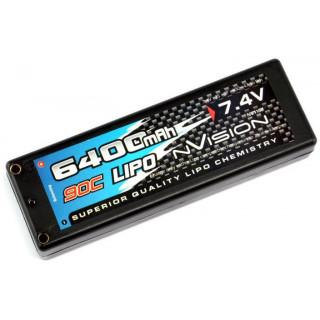 nVision LiPol Factory Pro 6400mAh 7.4V 90C Tubes