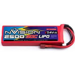 nVision LiPol 2500mAh 7.4V 30C